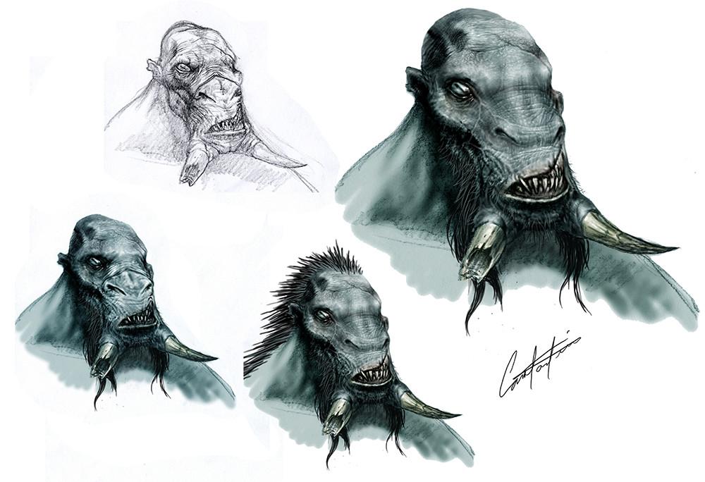 Hellboy 2 Wink head studio designs