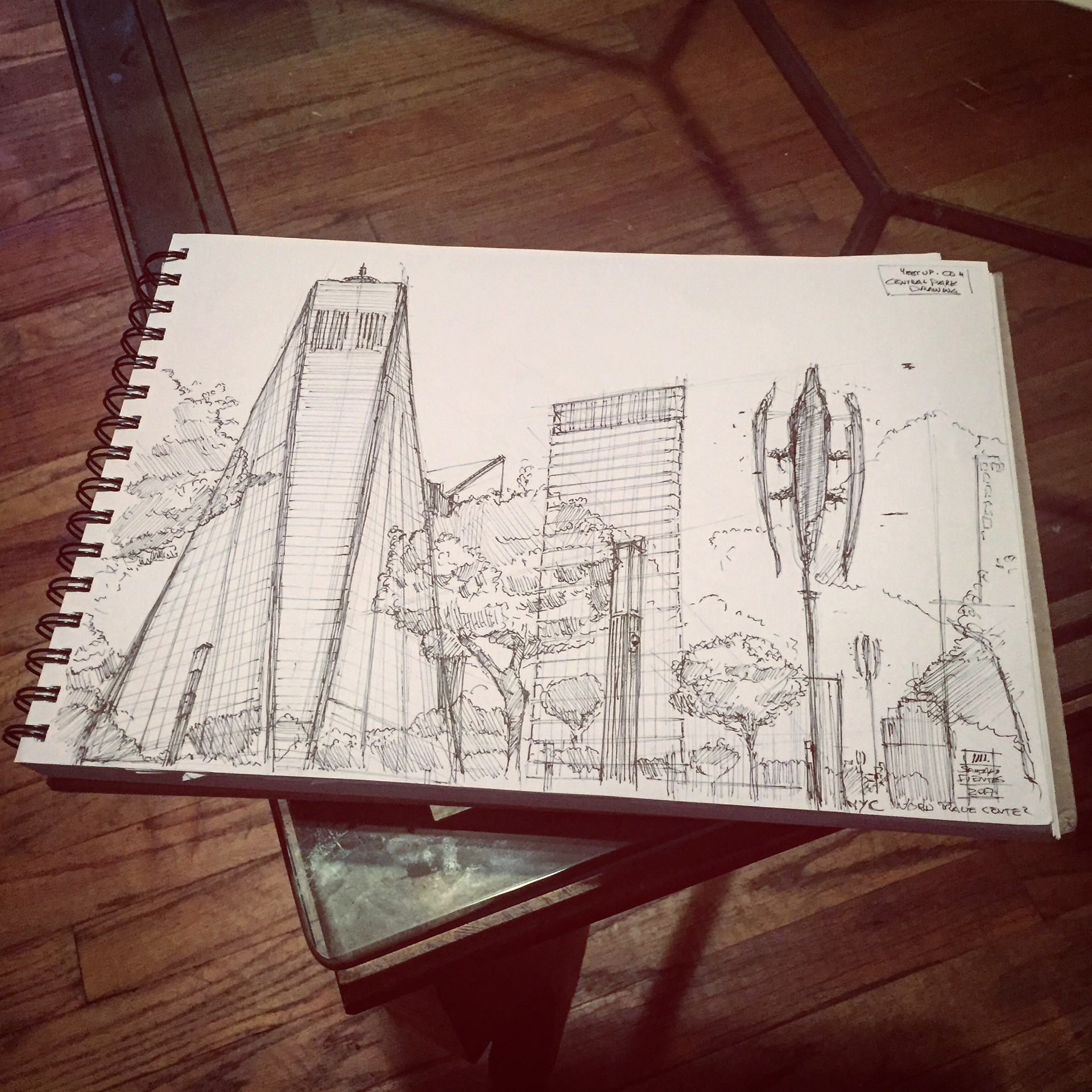 World Trade Center, NYC.