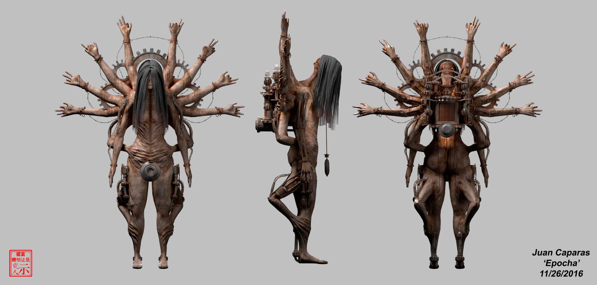 Epocha - 3D Character Breakdowns