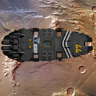 Joachim sverd battlecruisercressida mars orbit