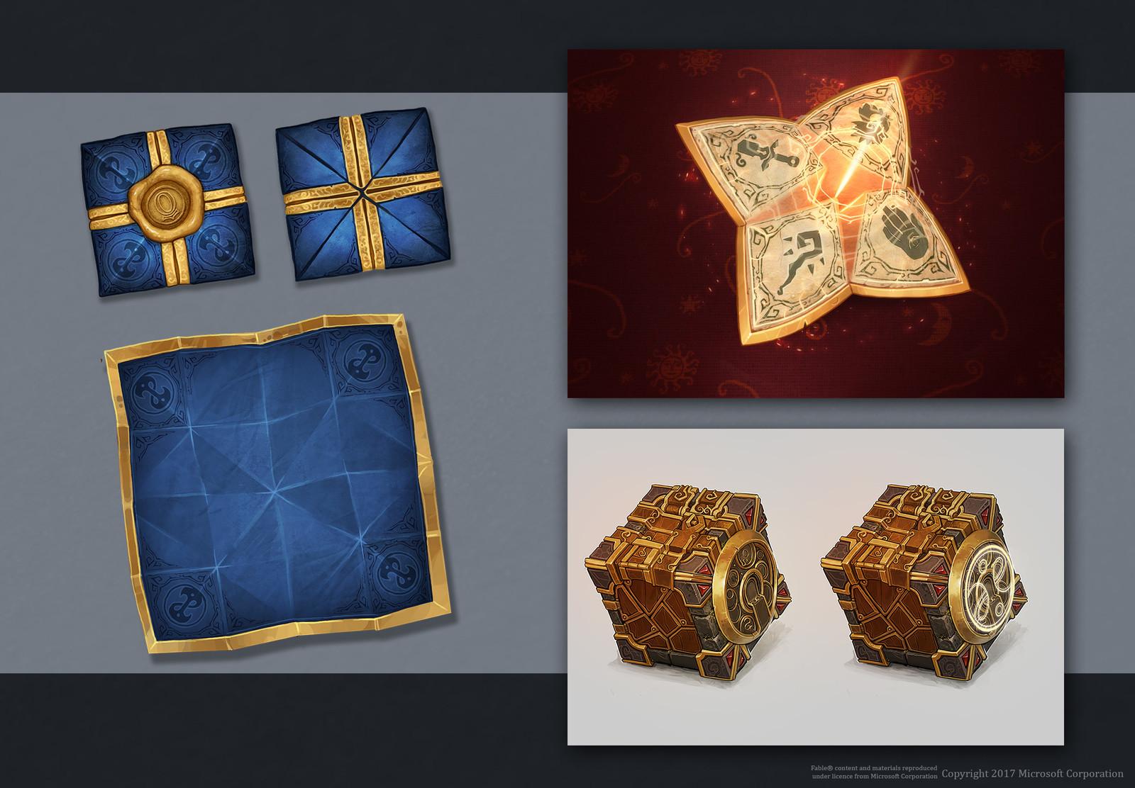 Cardpacks, Puzzlebox