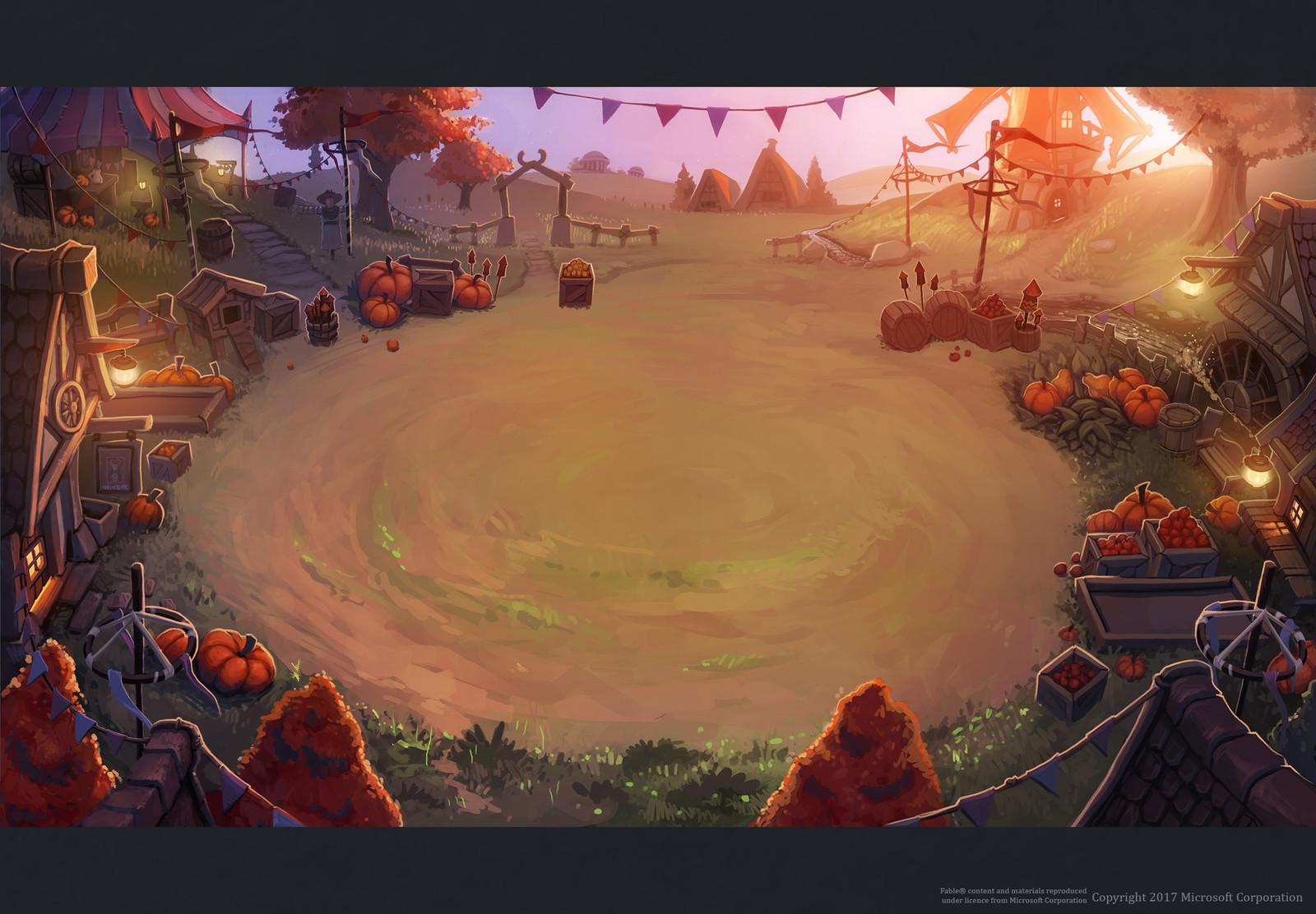 Harvest Festival Board