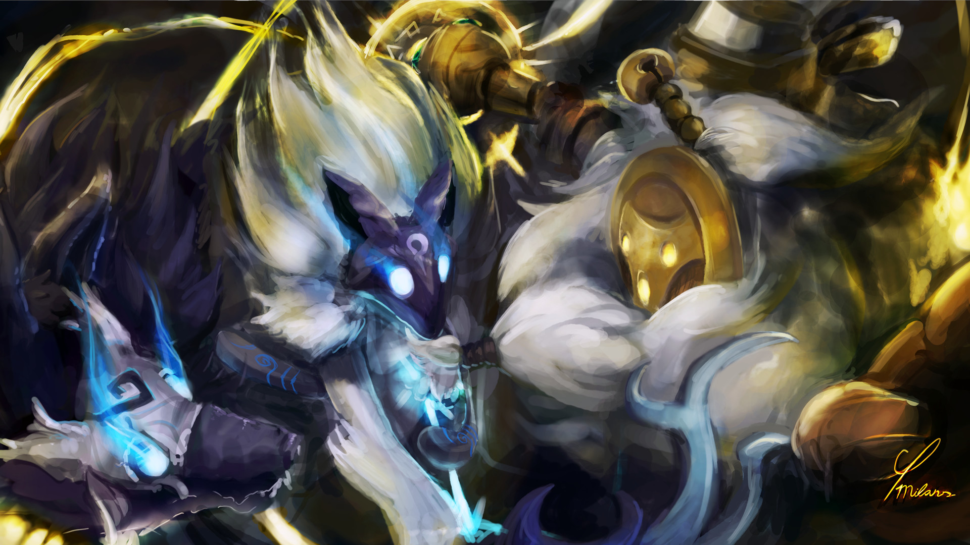 Artstation Bard And Kindred Cp Milans