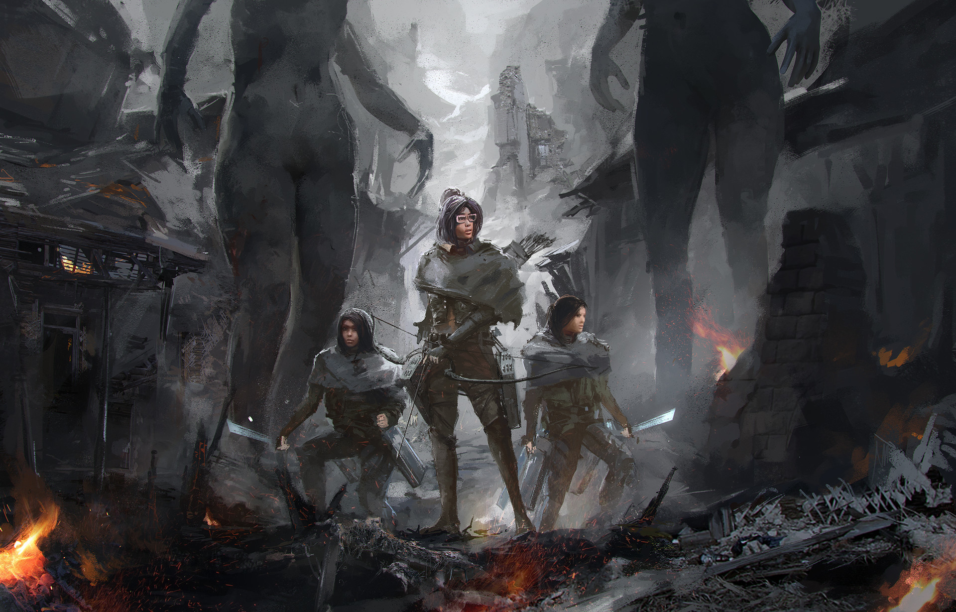 Sergey musin sergey musin attack on titans characterconcept 1 07