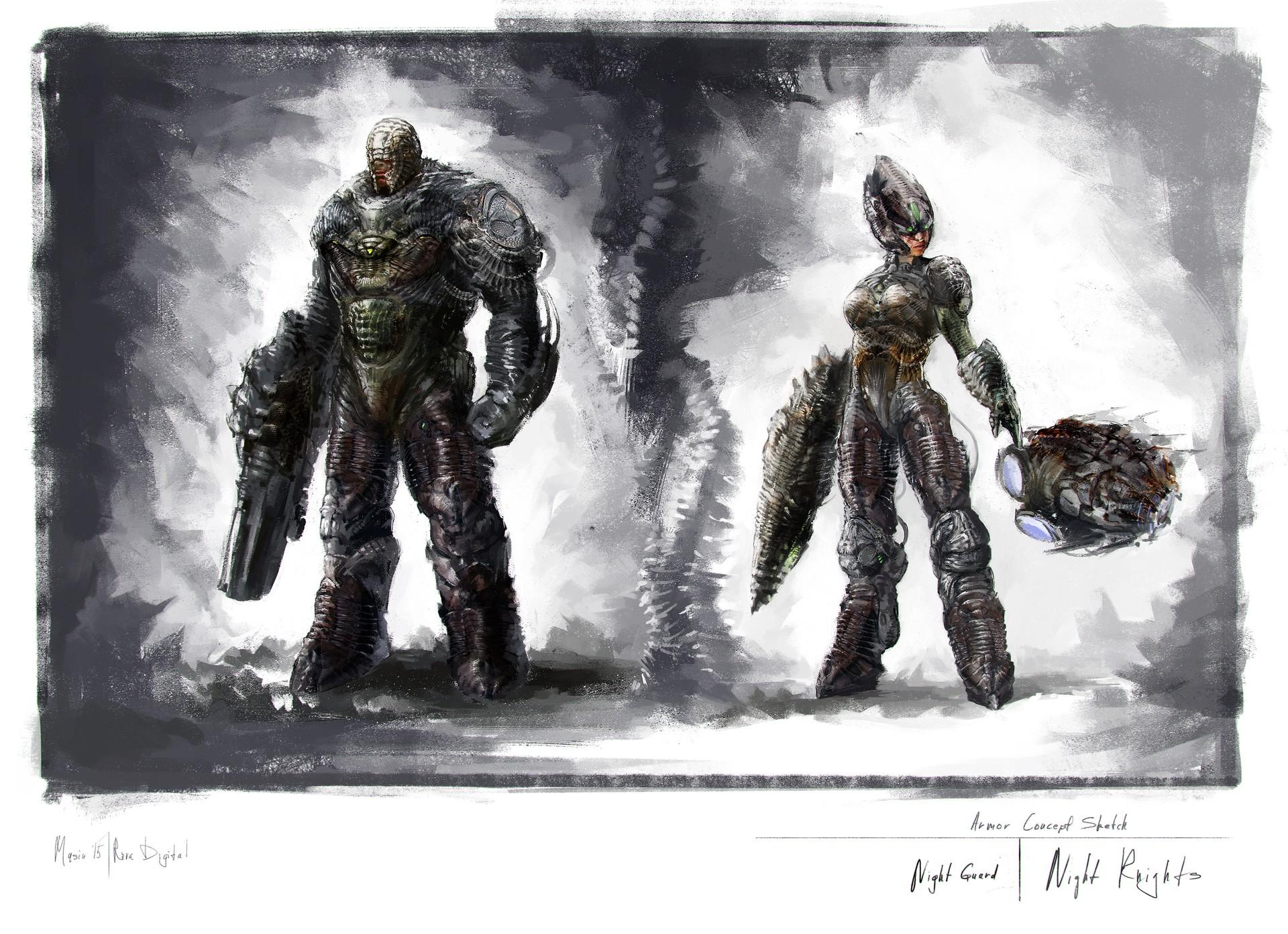 Sergey musin nightalnd armor variations 05 3