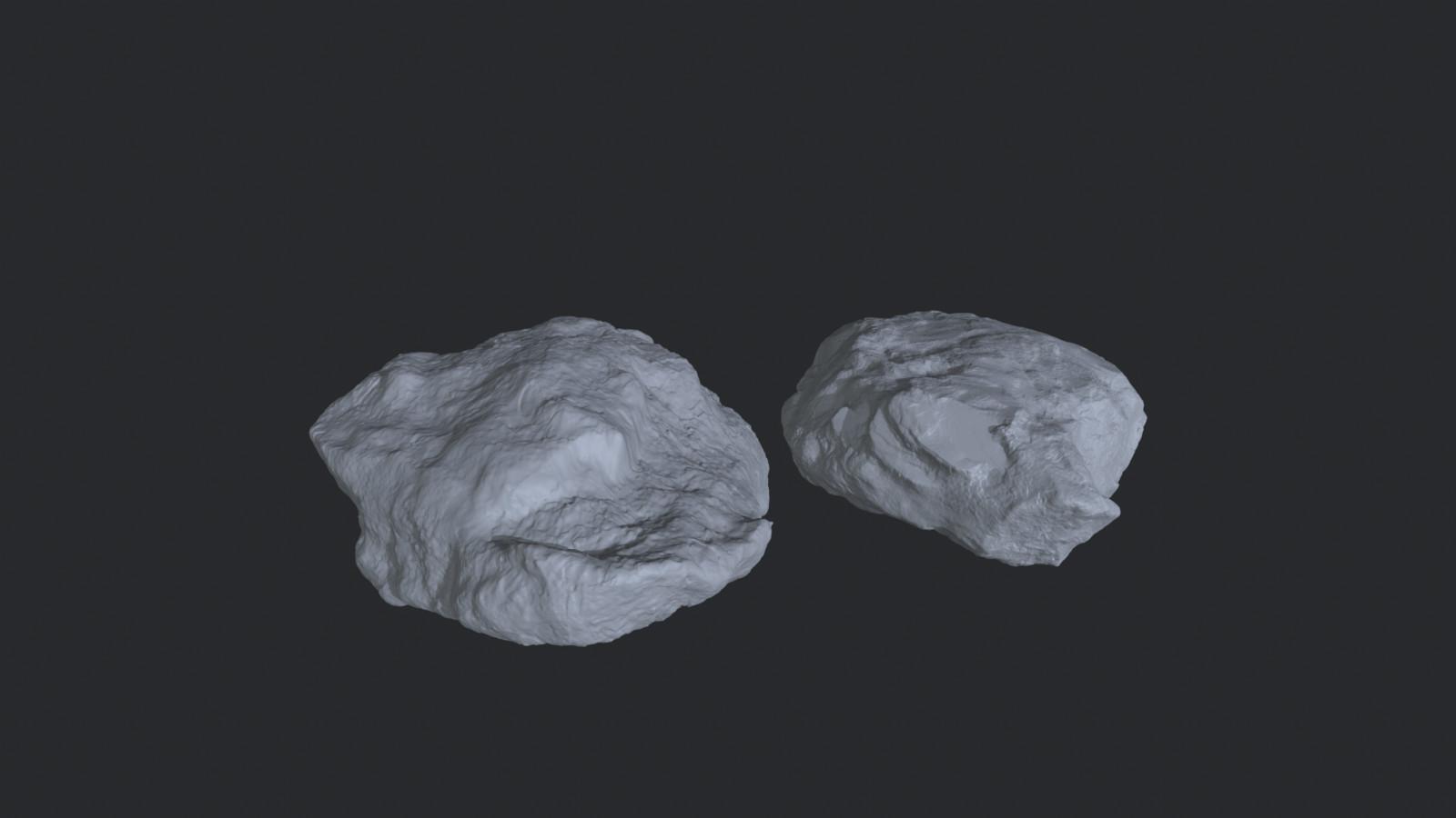 Rock High Poly Sculpts