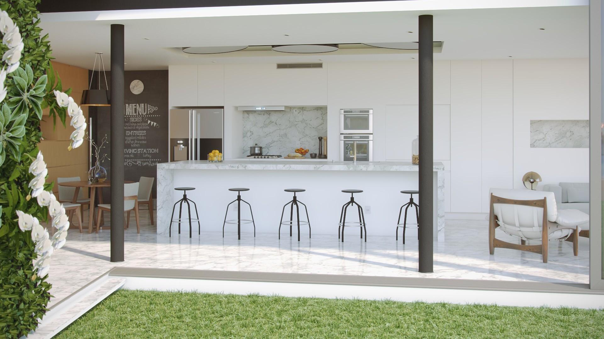 Ricardo eloy cozinha c013 parede verde