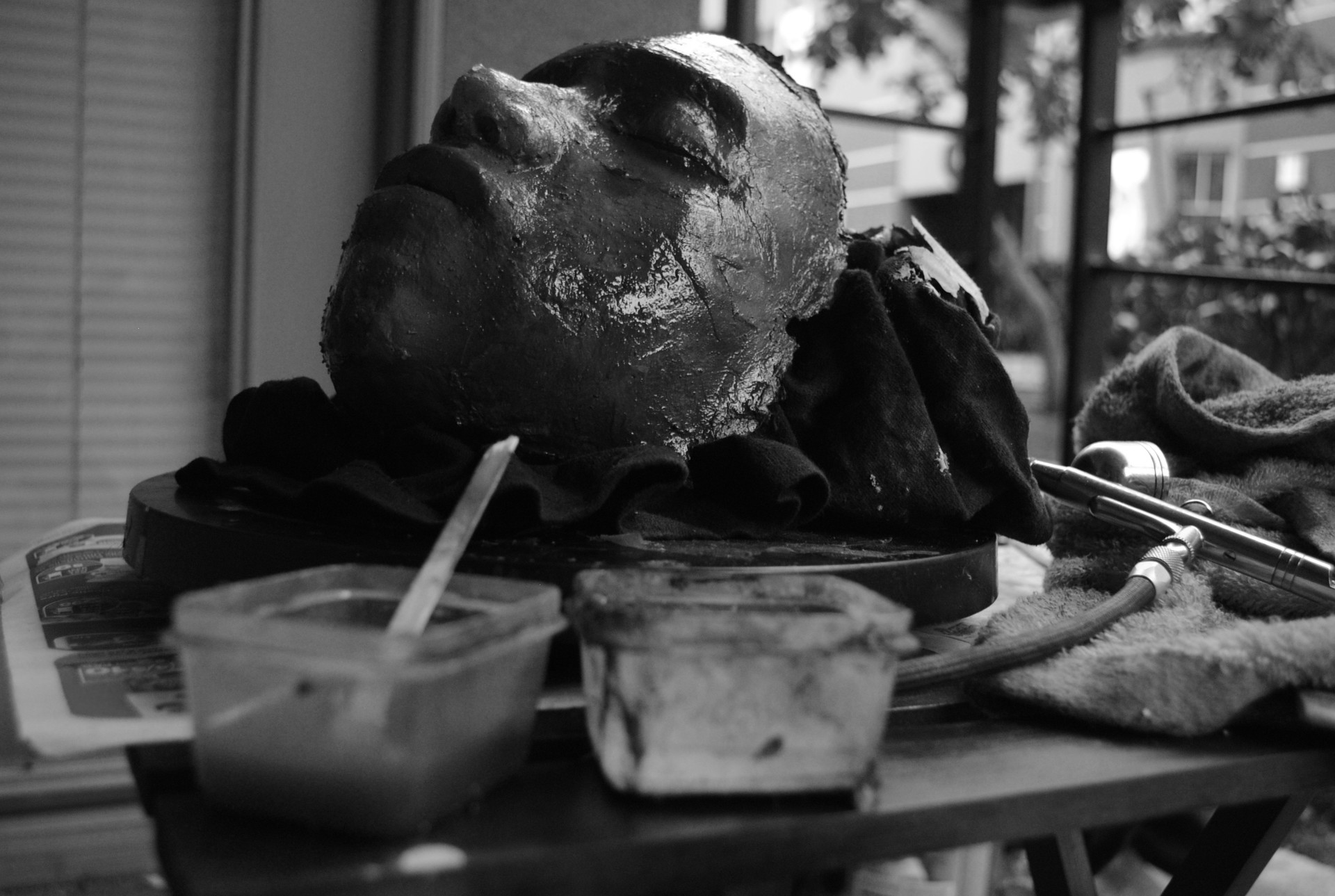 Death Mask - Plain (2010 - 2012 Silicone Masks)