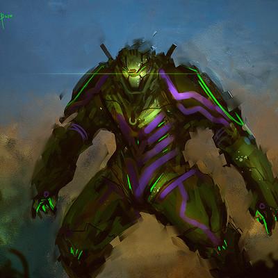 Benedick bana fanart mecha hulk lores