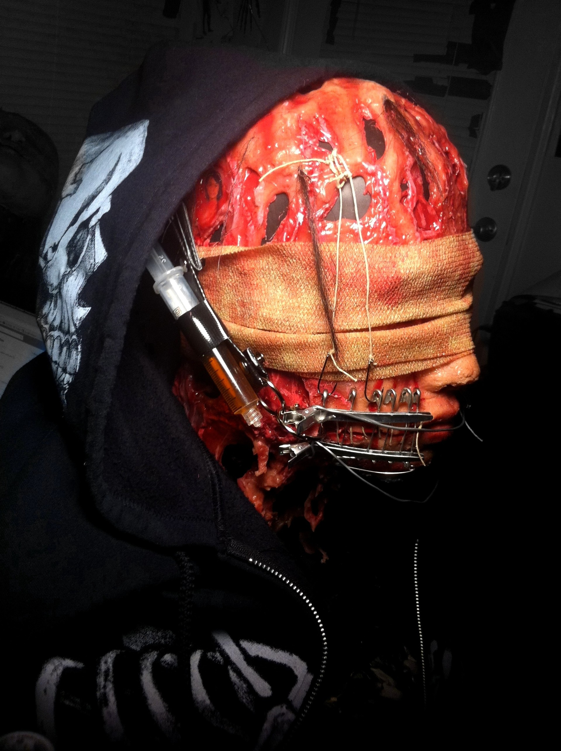 Death Mask - Heartwork Diagnosis (2012 Silicone Mask)