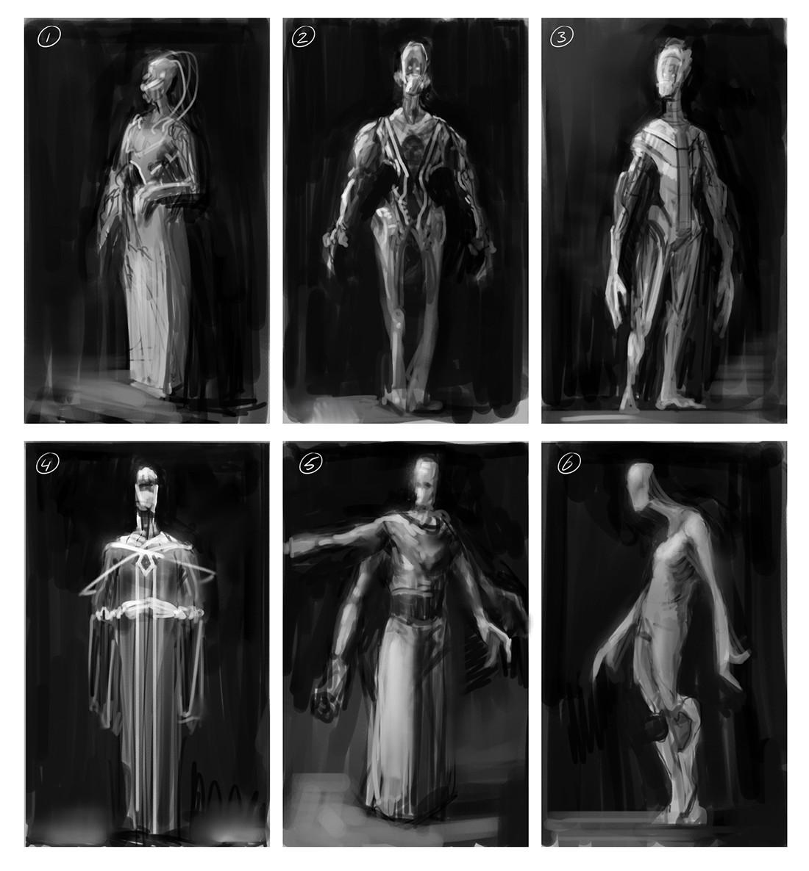 Chris leenheer alien design sketch 01