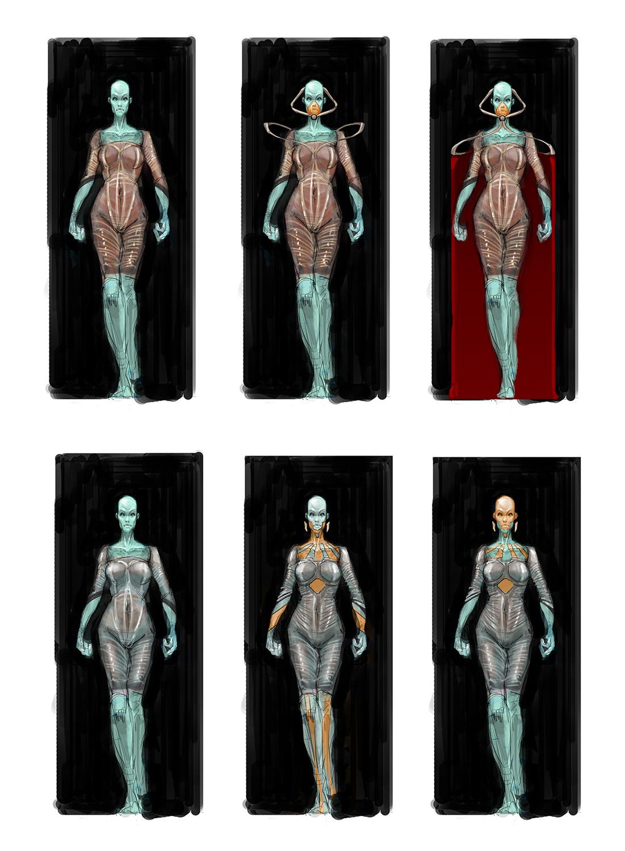 Chris leenheer alien design sketch 03