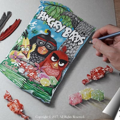 Mihai alin ion drawing angry birds mihaialinion post