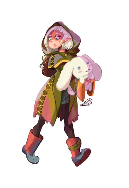 Anherys, the elf