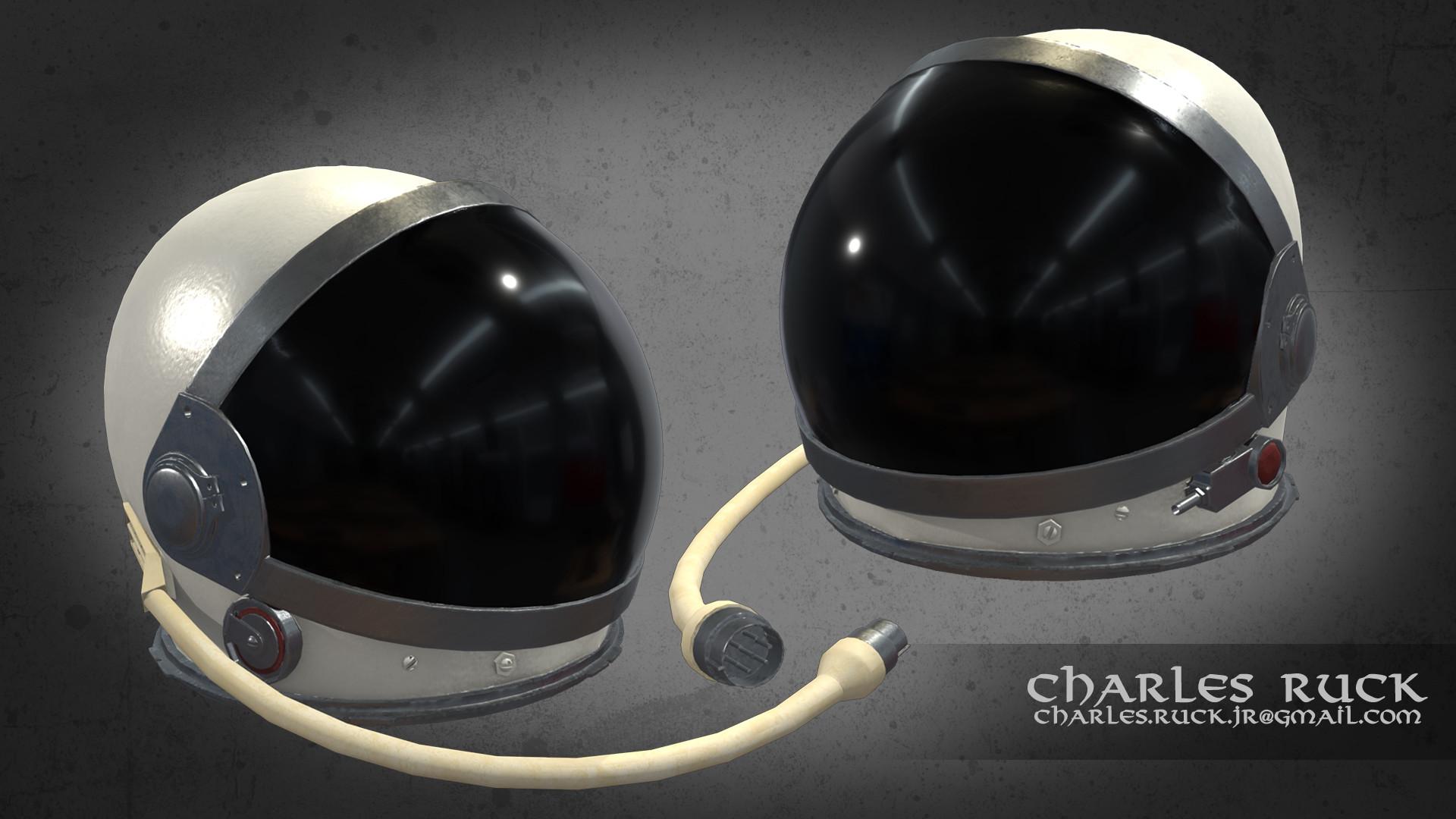 Charles Ruck Mercury Space Helmet