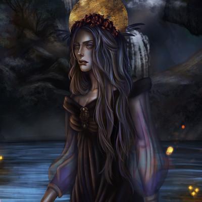 Sano eli celestine painting
