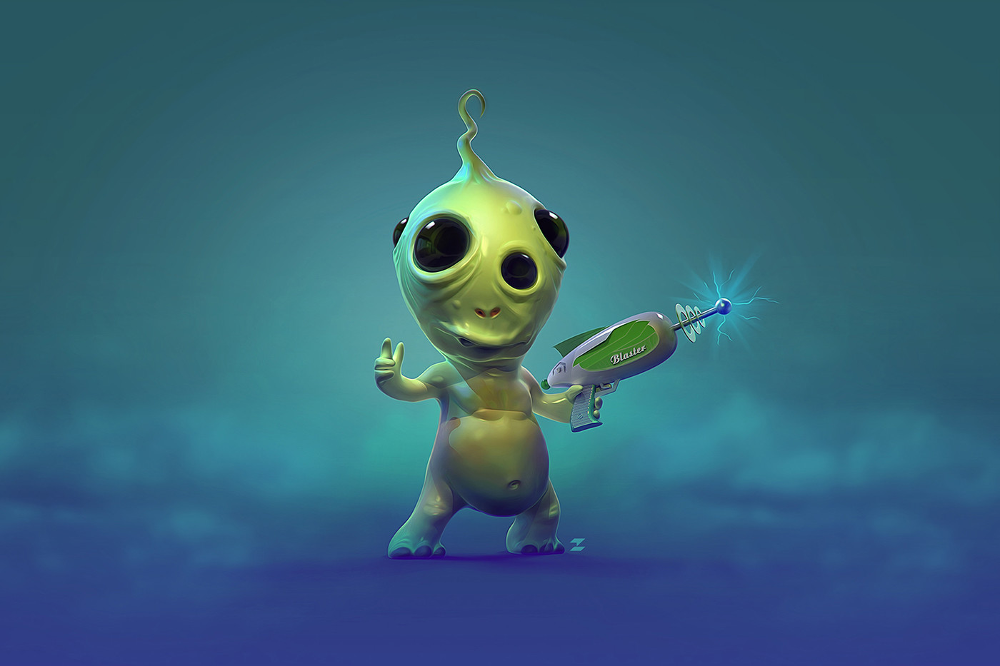 Tomislav zvonaric little alien tomajestic lowres behance