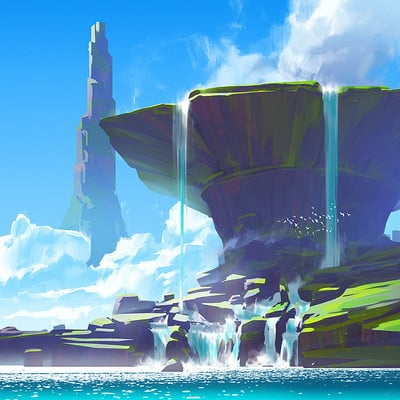 Anton fadeev square rockwaterfall