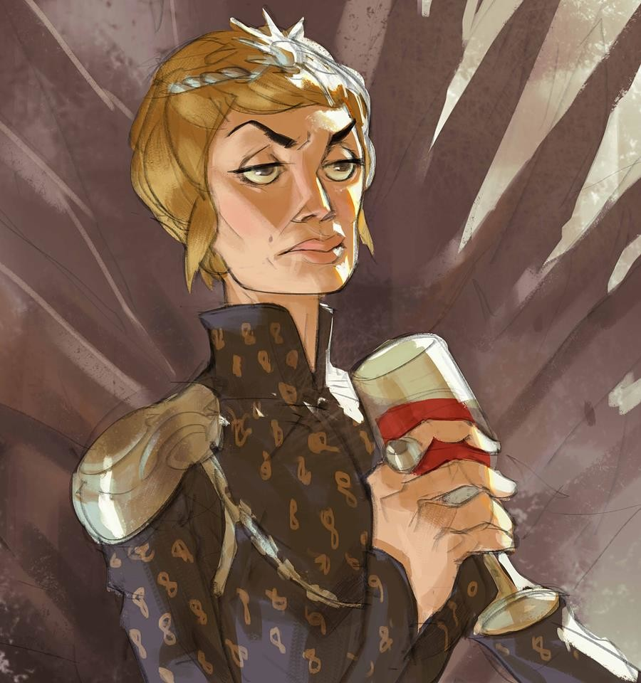 You can say many bad things about this lady but she has known how to play the game of thrones