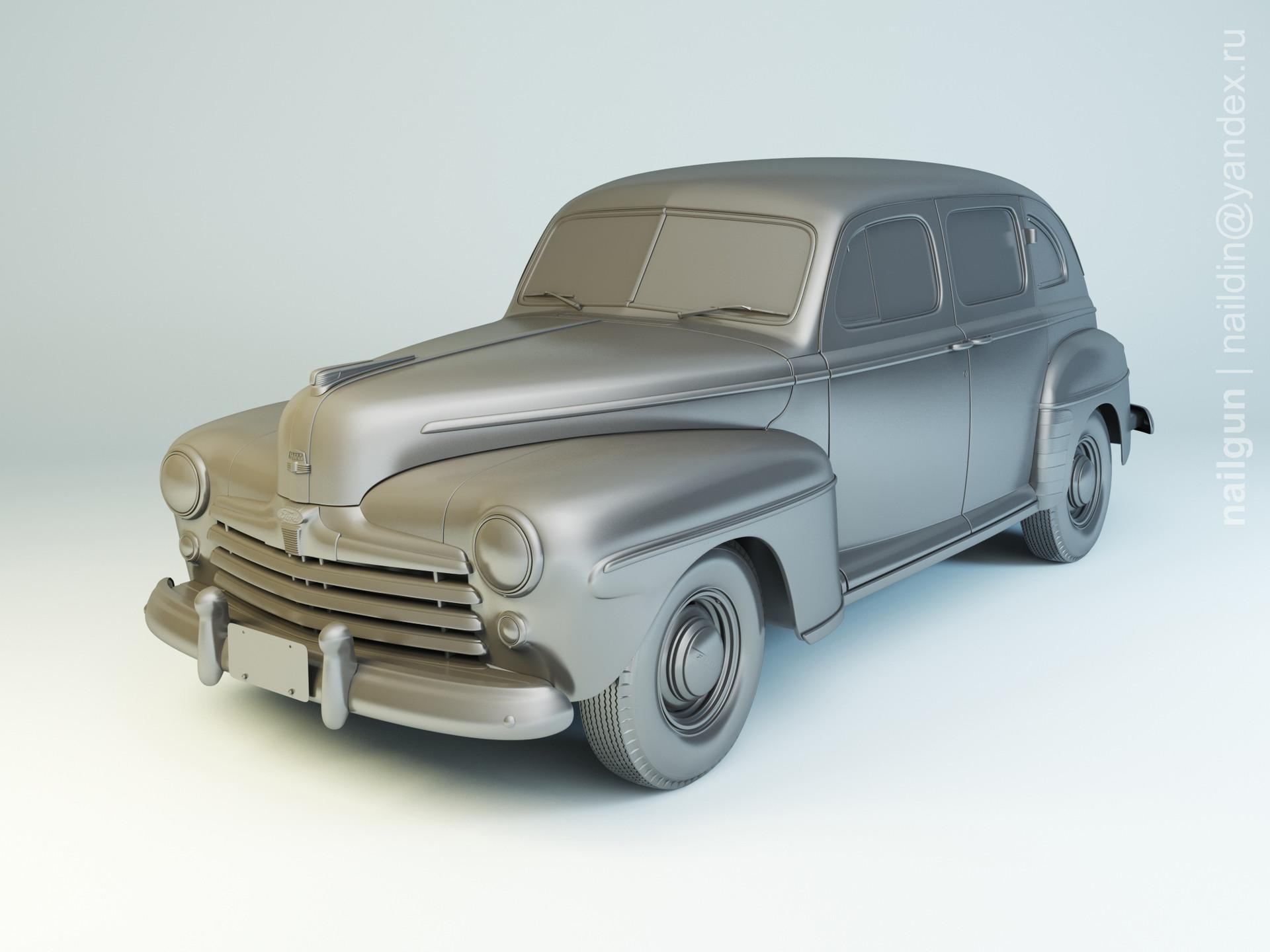 Nail khusnutdinov pwc 050 004 ford fordor modelling 0