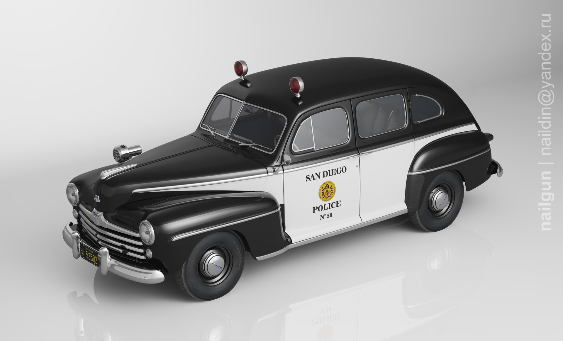Nail khusnutdinov pwc 050 000 ford fordor miniature