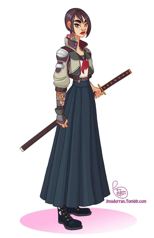 Commission - Uchiokoshi