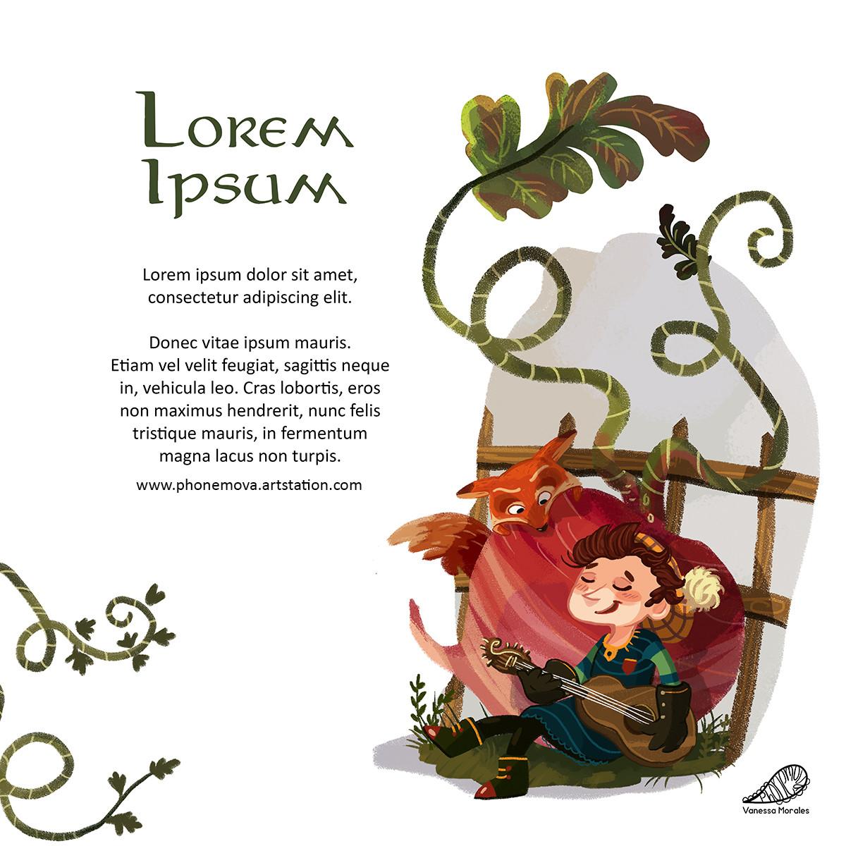 Vanessa morales duendes lorem ipsum