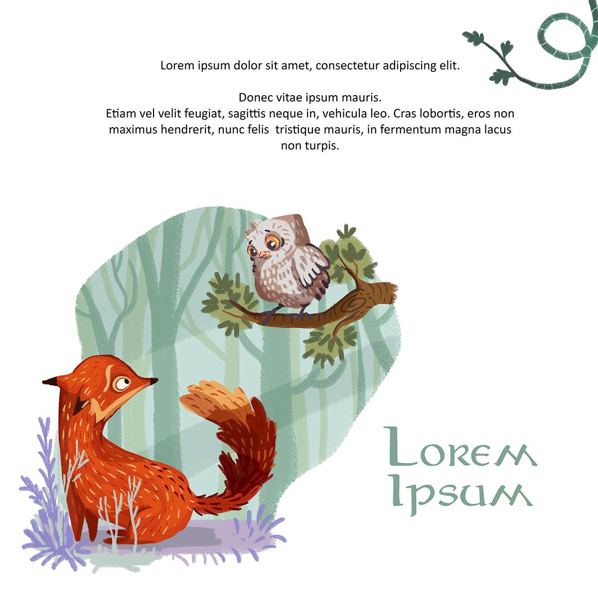 Vanessa morales foxes lorem ipsum