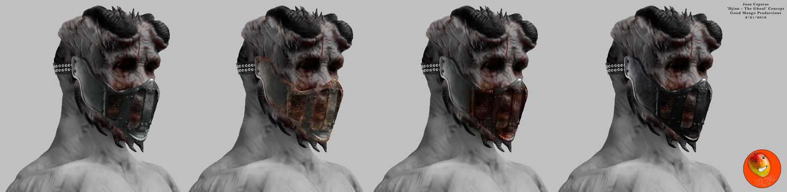The Ghoul Concept Art | Good Mango Productions
