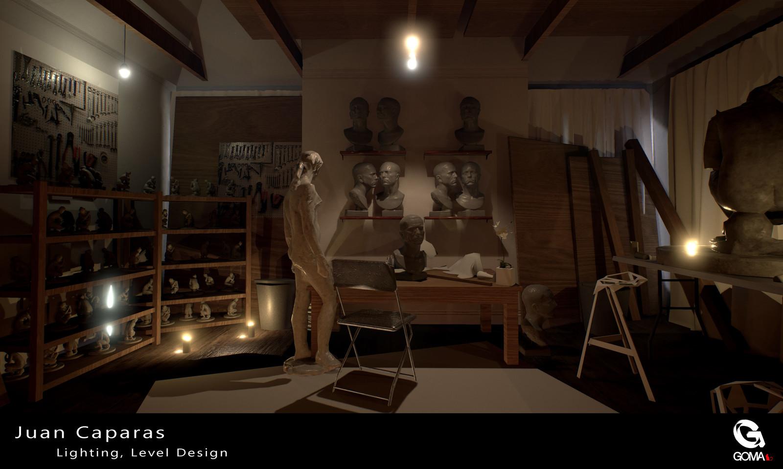 ArchViz Creepy | GOMA Productions