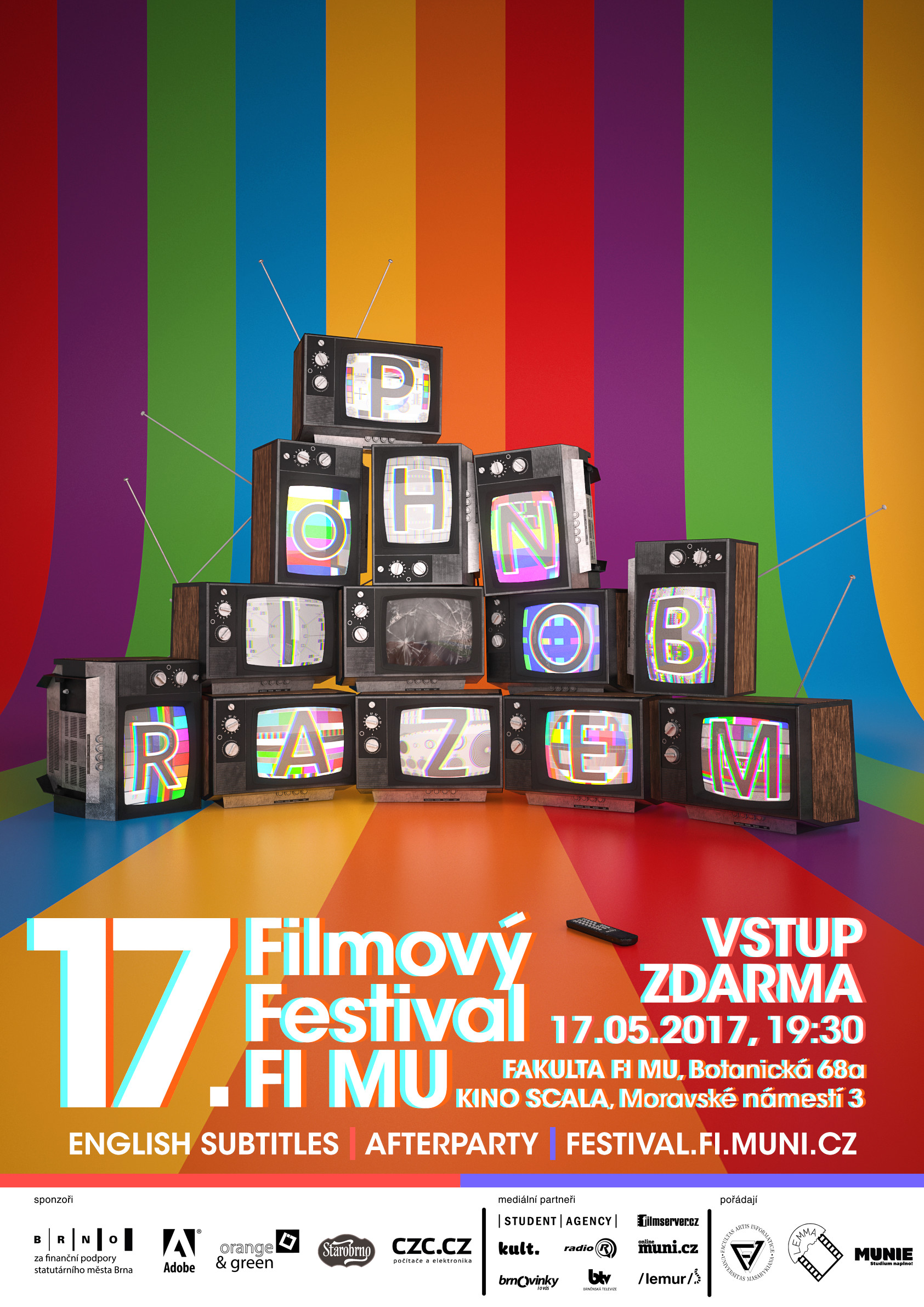 ArtStation - Poster Concept for 17th Film Festival of the