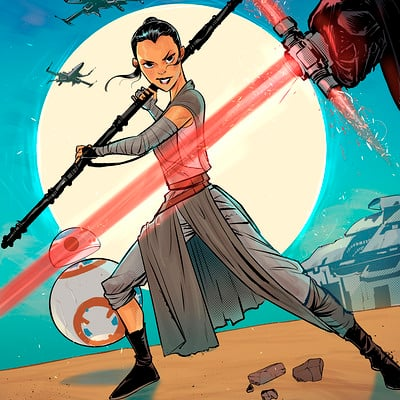 Rafael sam star wars rey