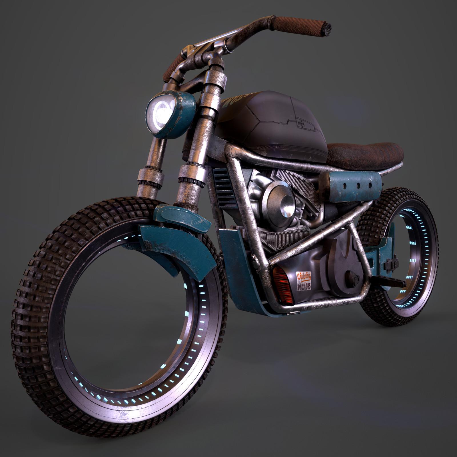 ZModeler - Bike