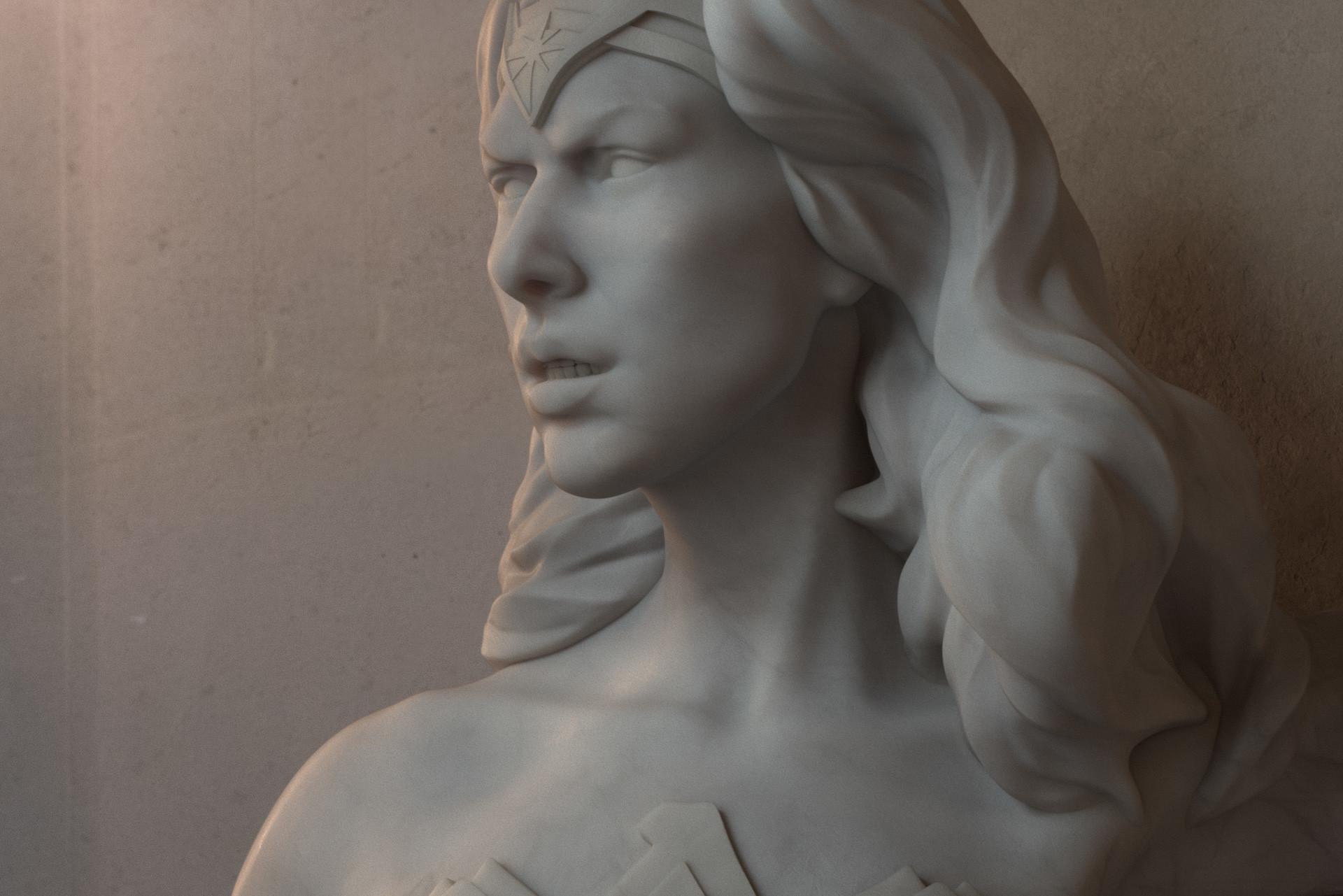 Peter kolus wonderwoman closeup