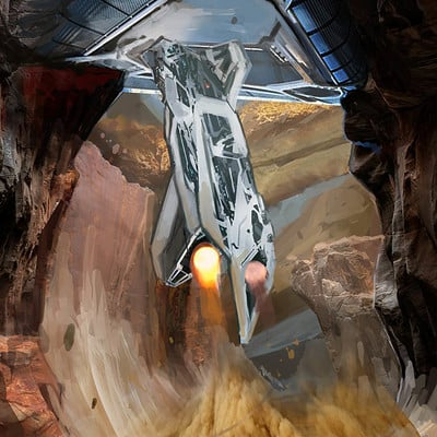 Pradal aurele into cave