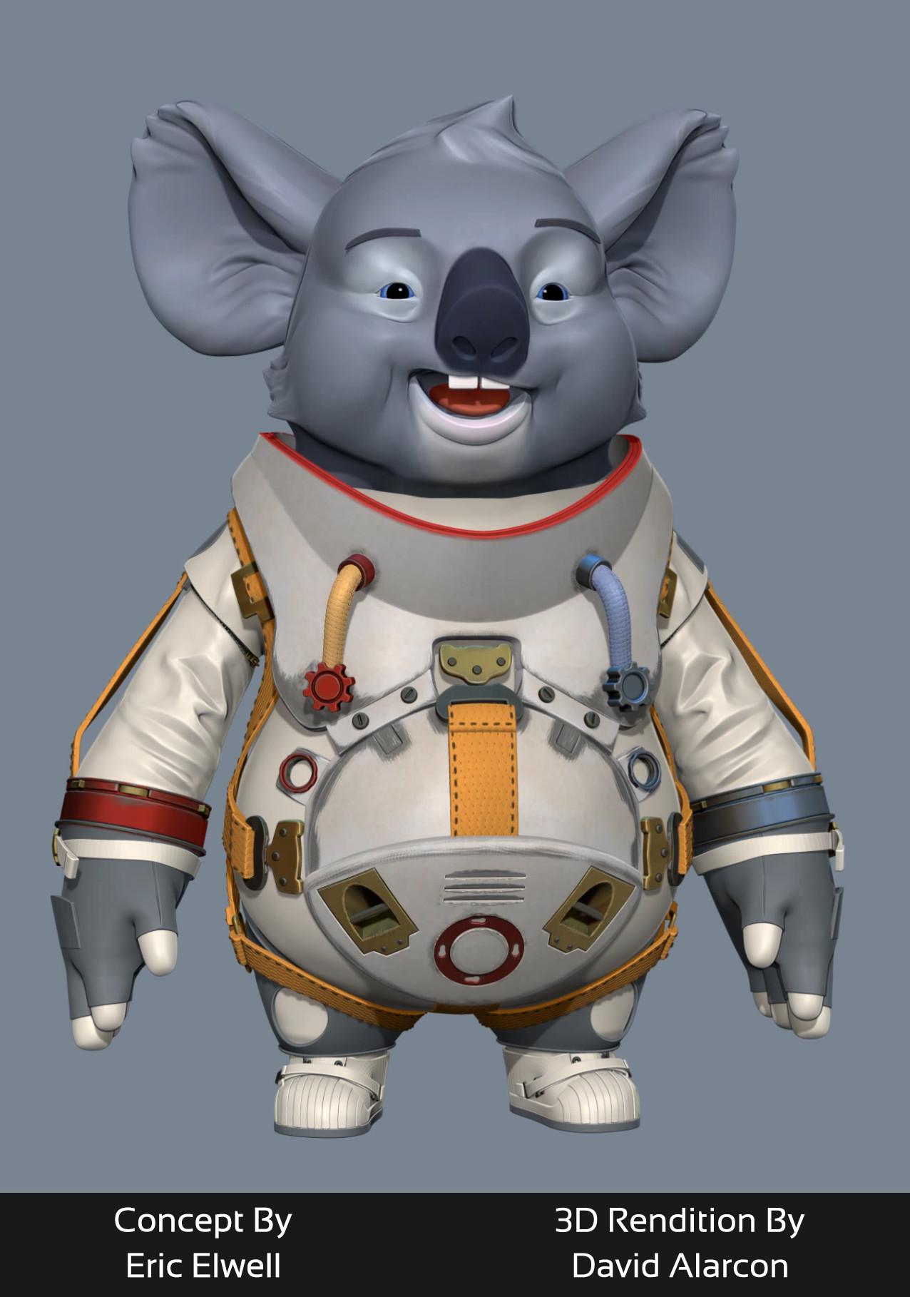 David alarcon koala wip
