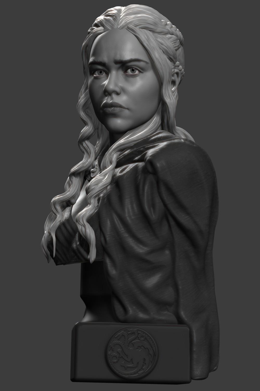 Daenerys Targaryen bust