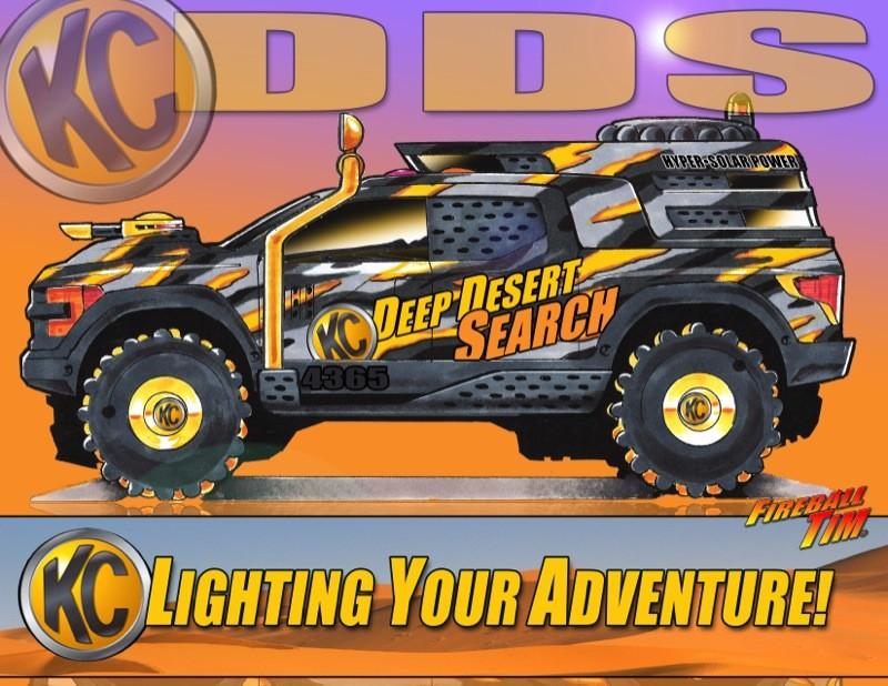 Truck SEMA Project - Client KC LIGHTING