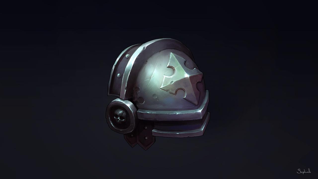 Sephiroth art metal armor