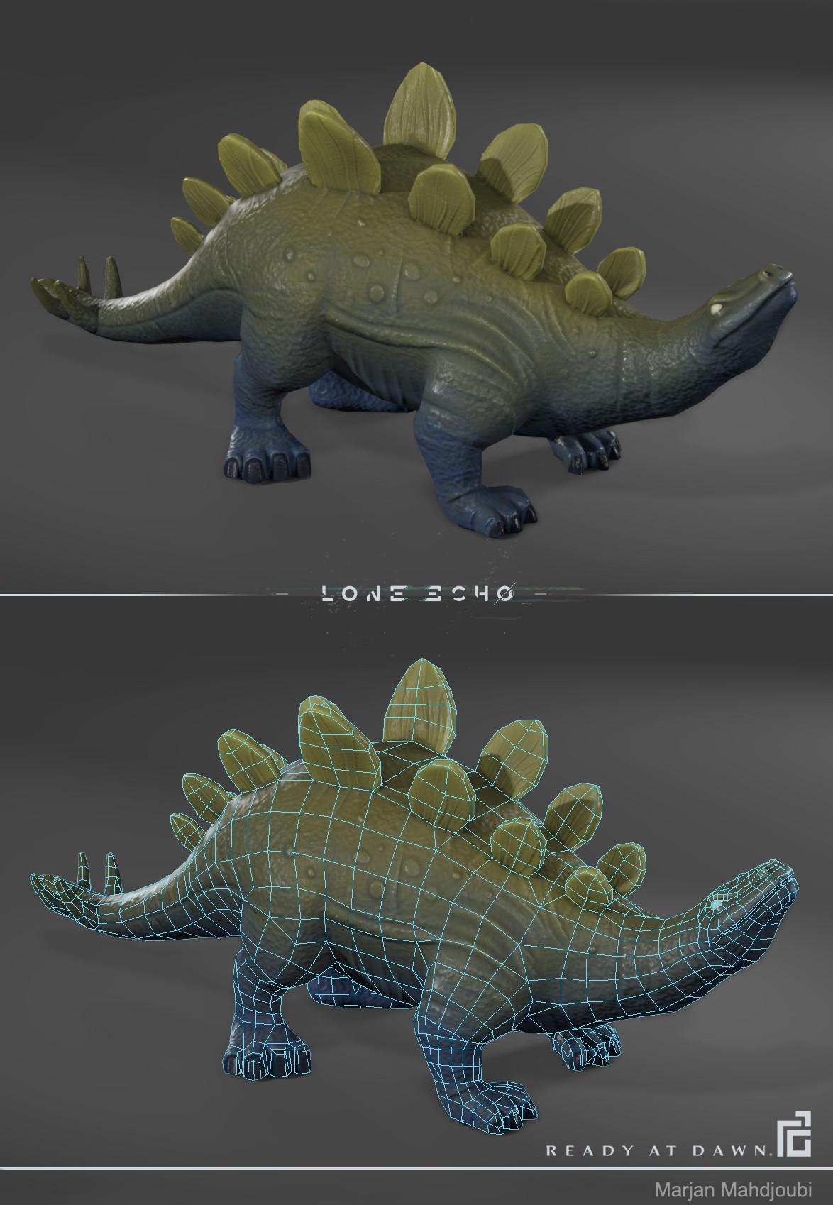 Marjan mahdjoubi stegosaurus ingame