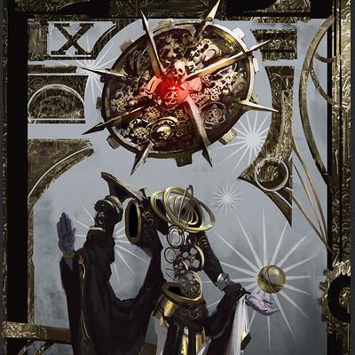 Sebastian horoszko tarot wheel of fortune high