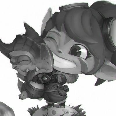 Denys tsiperko dragon trainer tristana 4