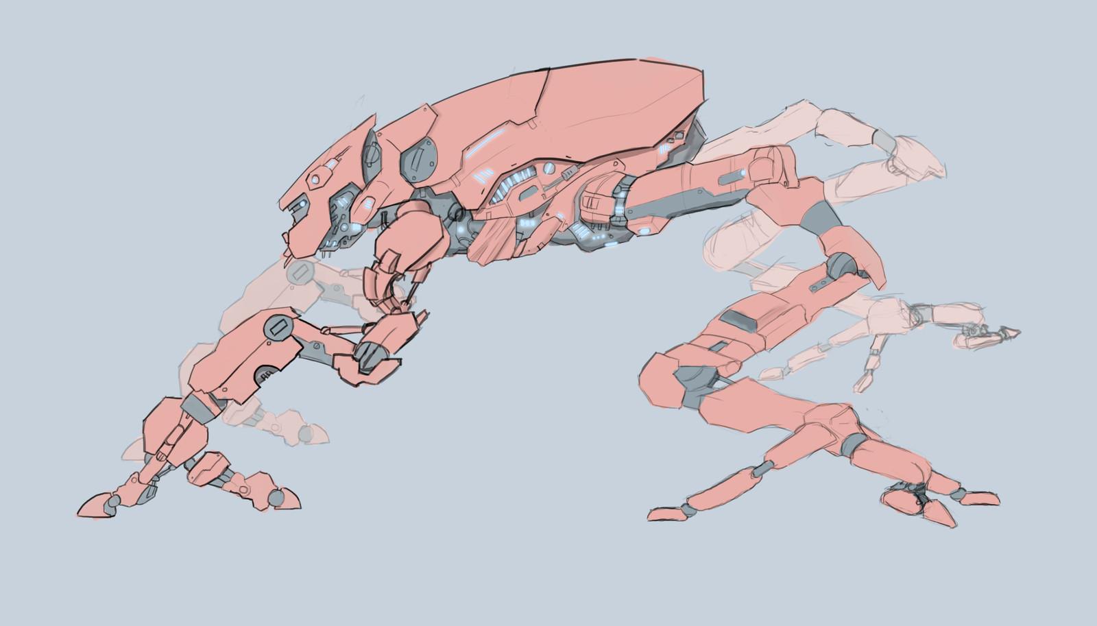 Crawler Mech Concept