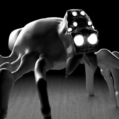 Silas fuchs spider sculpt