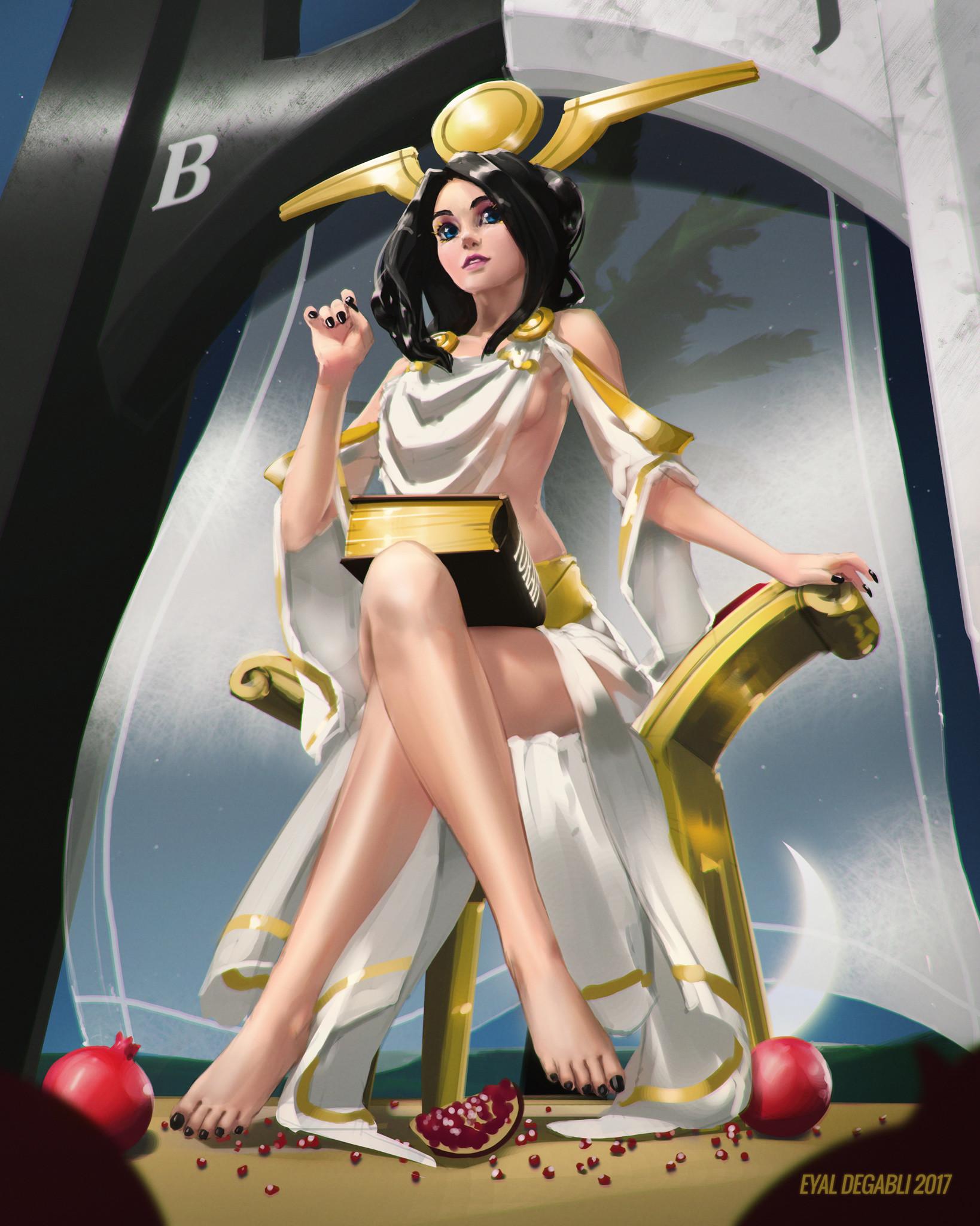 Eyal degabli high priestess 01