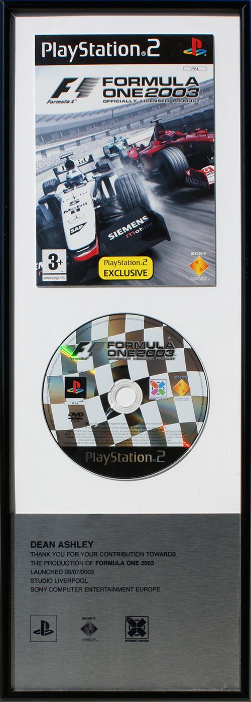 Sony F1 '04 - Team