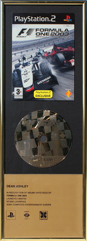 Sony F1 '03 - Sales