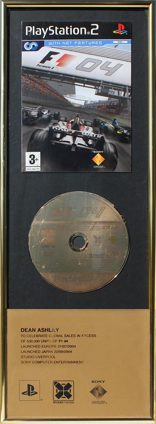Sony F1 '04 - Sales