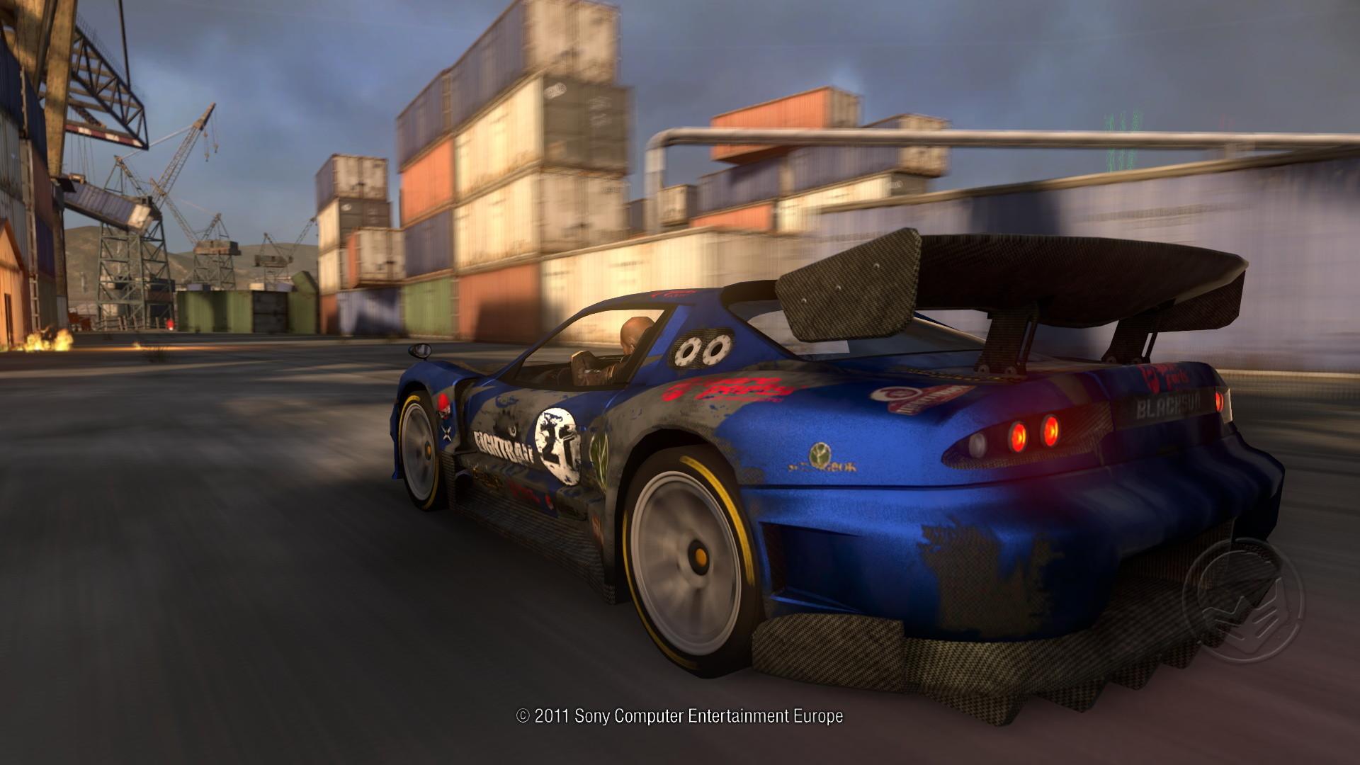 Ozutsu Blacksun J-GT (In-game screenshot)
