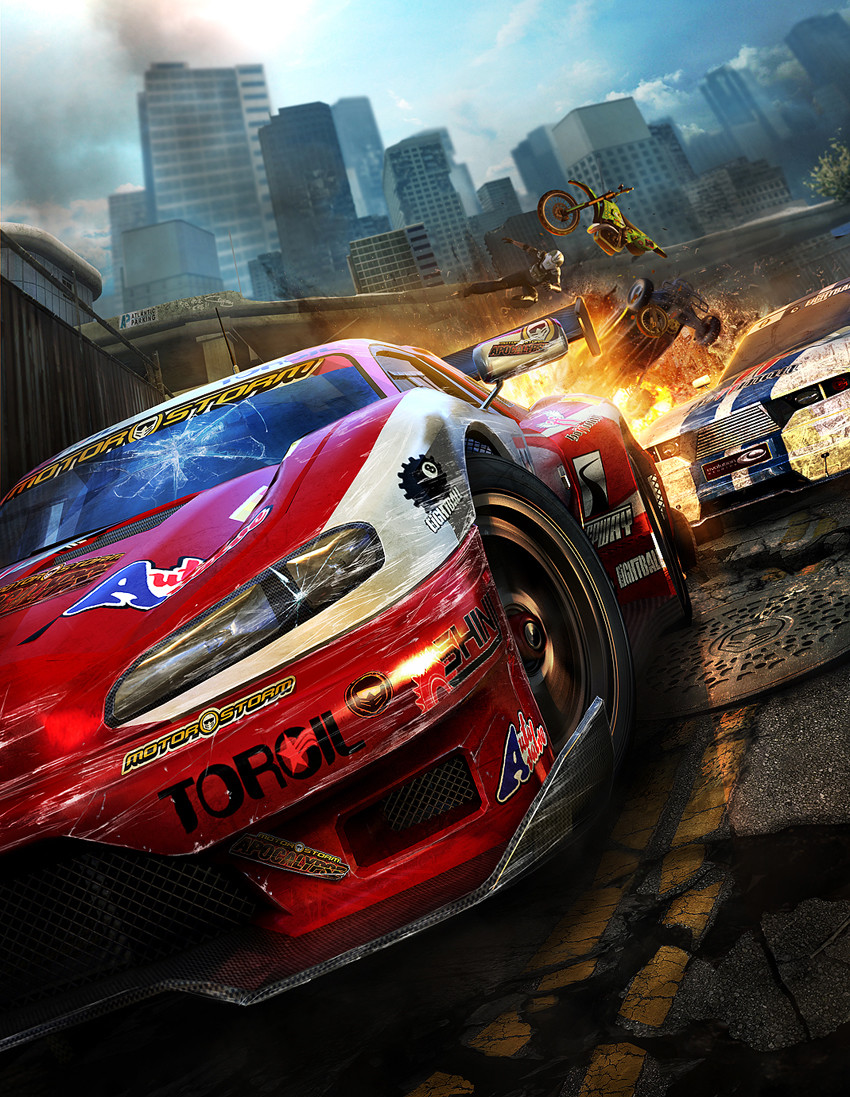 MotorStorm Apocalypse Play Magazine cover